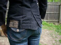 jeans jacket - tail | Flickr - Photo Sharing!