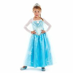 Disney Frozen Elsa Costume, Tiara and Shoes - jcpenney