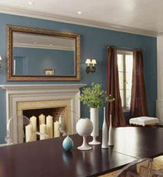 rooms house ideas blue dining rooms colors painting colors