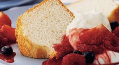 Low Fat Delicious Angel Food Cake Recipe for prediabetics, type 2 diabetics or if you just want to eat healthy