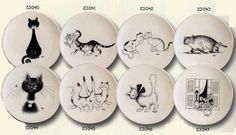 Plates by Albert Dubout from $15