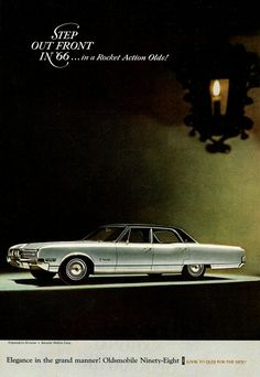 1966 Oldsmobile Ninety-Eight Luxury Sedan Ad