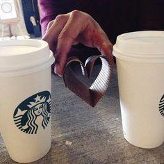 Valentines Day and Starbucks perfect combination♥