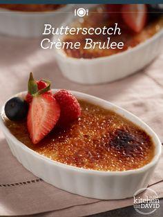 Three words: Butterscotch Crème Brûlée! #Dessert is served :)