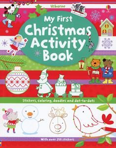 Usborne Books & More. My First Christmas Activity Book