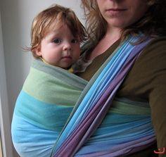 Natural Mamas Girasol wrap - loving the colors!!