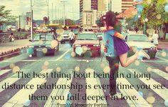 long distance relationship. omg awww