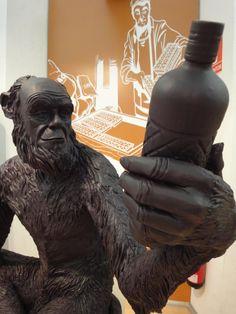 Estatua de chocolate de Anís del Mono