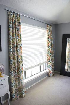 living room windows, curtain rods, bay windows, outdoor curtains, diy curtains, homemad curtain, homemade curtain, bedroom, electr conduit