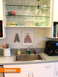 Before & After: Andie's Mini Kitchen Makeover — Apartment Therapy's Home Remedies