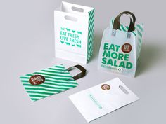 Sandwich or Salad by Masif , via Behance