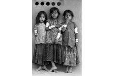 Three Harijan Girls, Kutch, Gujarat 1979 - Jyoti Bhatt