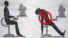 Practice Good Posture for Better Memory Retention by lifehacker: : )  #Posture #Memory #lifehacker