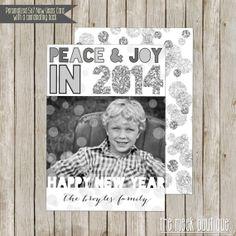New Year's Photo Card