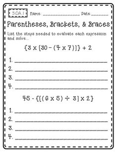 Common Core Math {Outside of the Box} (Grade 5) Open-ended math pages