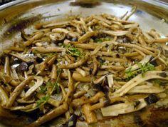 Sautéed Wild Mushrooms