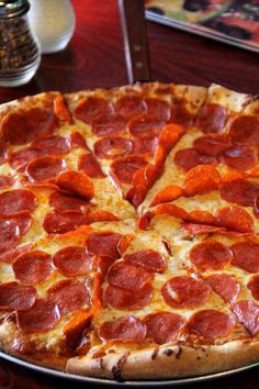 My favorite food is Pizza..  Any topping will do.  Stuff crust is my idea of a perfect piece of pizza.  Yummy!