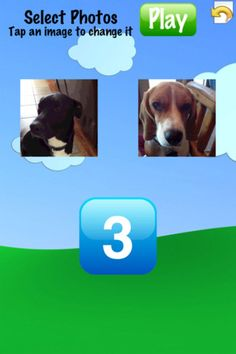 iPhoto Memory Match ($0.00)  Create your own cards with photos from your photo album or take new ones from you camera!