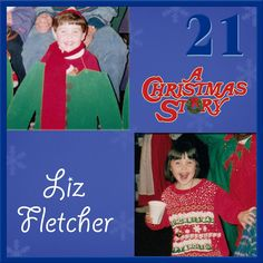 Day 21 - Today we have two very special Christmas Story cast and crew as kids to share! The first is our amazing Professional Stage Management Intern Liz Fletcher! #achristmasstory #christmas #tennesseerep #nashville #theatre #theater
