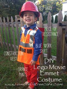 DIY Emmet from Lego Movie Halloween costume