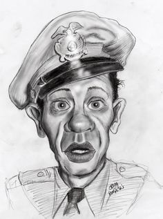 "Don Knotts as ""Barney Fife""  (by Craig Rogalski)"