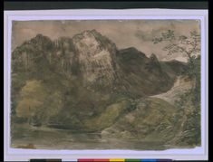 View in Borrowdale, John Constable, 1806