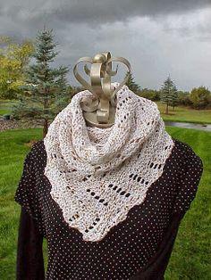 Kriskrafter: Free Knitting Pattern! Definitely Diagonal Scarf