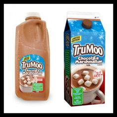 This February try out #TruMoo Chocolate Marshmallow Milk! It's so delicious!