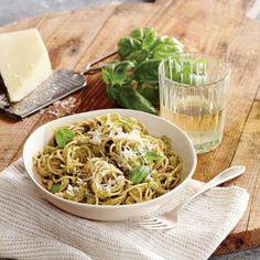 Broccoli and Pecorino Pesto Pasta | CookingLight.com