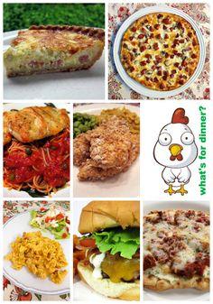 dinner, weekly meal plans, weekly meals