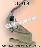 Complete Professional KAM Snap Press Kit with Dies and KAM Plastic Snaps
