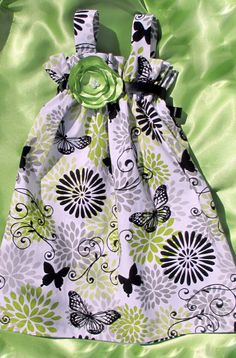 Baby Girl Clothes Baby Girl Dress Lime Green Lime by BellaBlitz