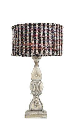 tweed lampshade