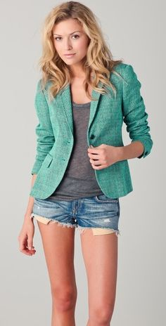 Not the shorts, but I love the blazer