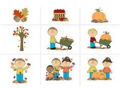 Enchanted Schoolroom: Fall Cutting Strips