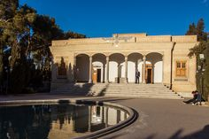 Zoroastrian Fire Temple of Atash Behram, Yazd, Iran