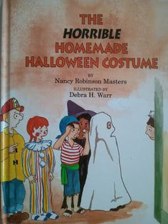 """Halloween Video Book Reading of """"The Horrible Handmade Halloween Costume,"""" followed by a Craft and Feelings Discussion"""