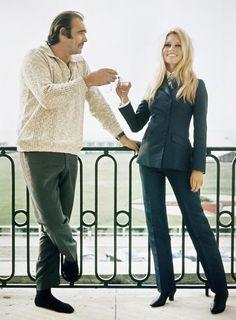Bardot and Sean Connery