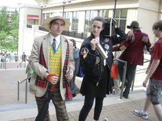 7th Doctor and Ace cosplay
