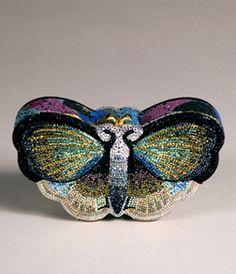 Judith Leiber Butterfly Minaudière