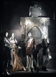 stylecurated: -WEDNESDAY WINDOWS- Bergdorf and Goodman - sept. 2014