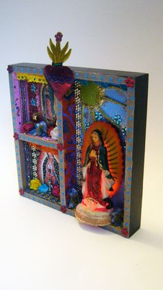 Our Lady of Guadalupe - The Virgin Mary shrine or altar piece