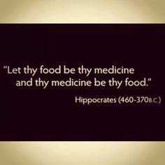 Healthy whole organic food is medicine