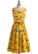 what a fun dress.