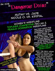 Get Full Length Matches, Highlights, Sexy Wrestling Clips, 1000's of Photos, Free Videos, Downloads of Mixed Wrestling