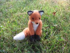 fox by LittleElfsToyshop on etsy $30
