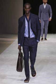 Giorgio Armani Menswear Spring Summer 2015