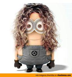 Shakira como un Minion