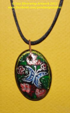 $1 Starting Bid: Flying Butterfly Pendant Necklace http://www.outbid.com/auctions/1734#11