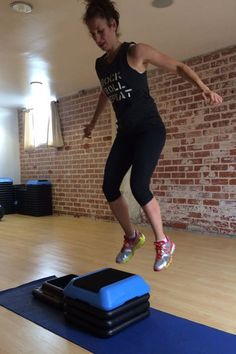 Get your heart pumping with this 12-Minute Get-Strong Workout! #fitness #exercise   Health.com